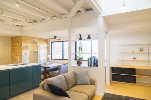 岐阜市施工例|古きを生かしたカフェハウス
